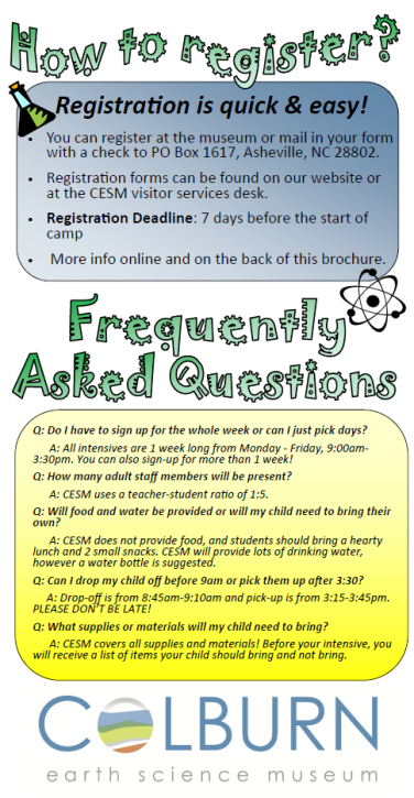 Summer Registration and FAQ